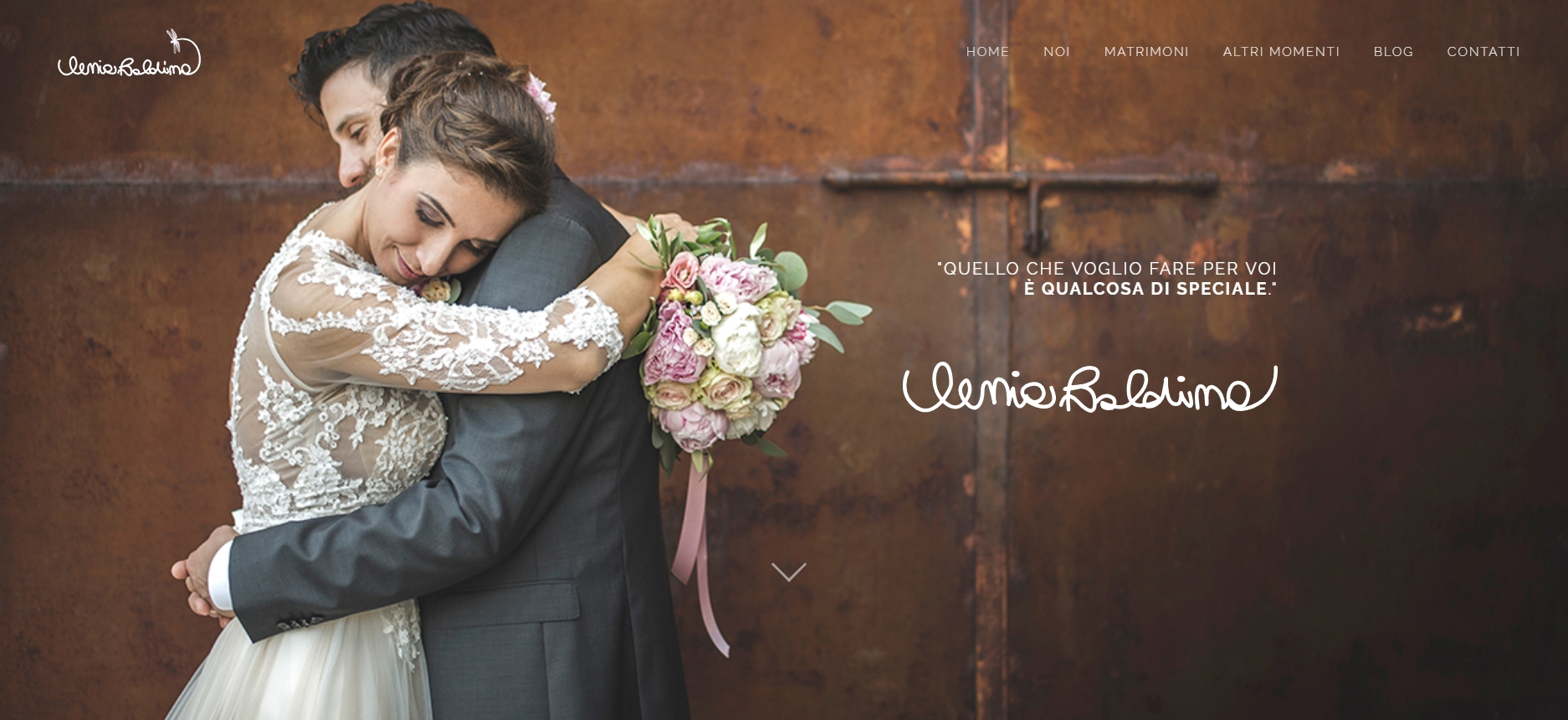 Sito Ilenia Baldina, Fotografa Matrimoni Veneto